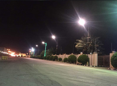 Street Light Project  - In Middle East